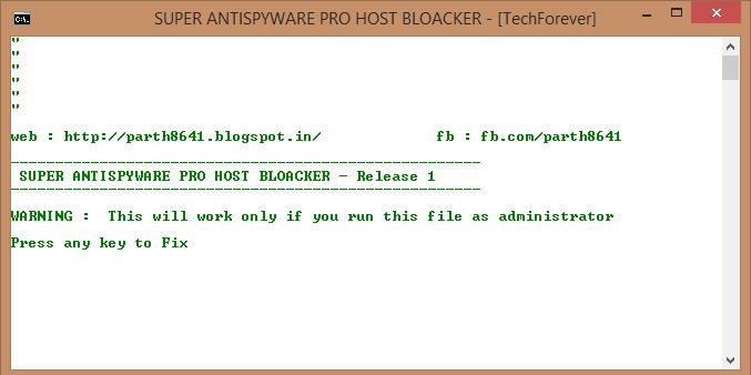 super antispyware free edition