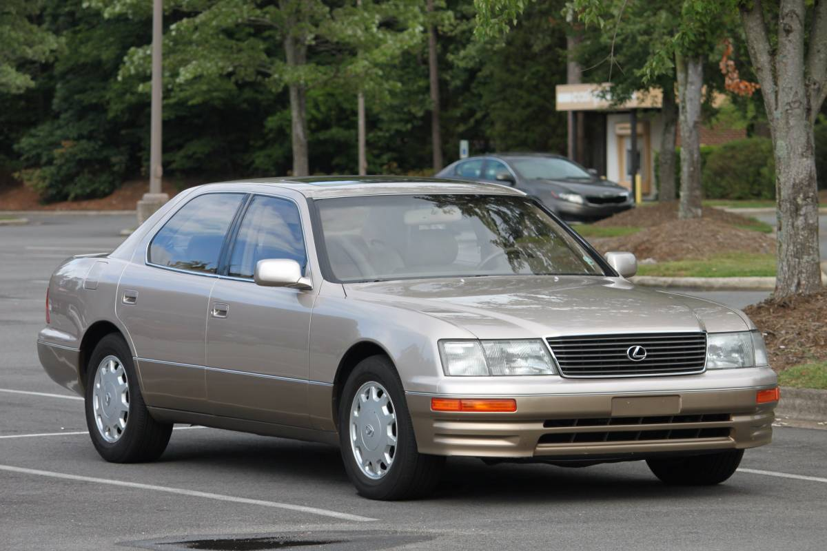 Daily Turismo: Low Mile Survivor: 1996 Lexus LS400