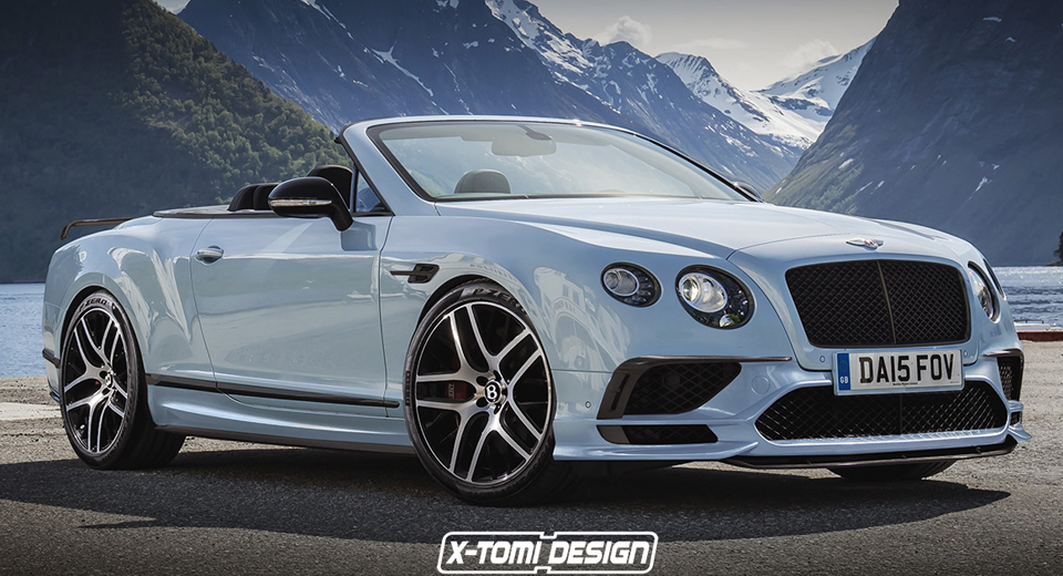 bentley continental supersports looks ready to drop its top. Black Bedroom Furniture Sets. Home Design Ideas