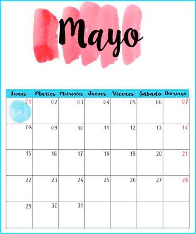 Mi Sala Amarilla: Efemérides Mayo 2017