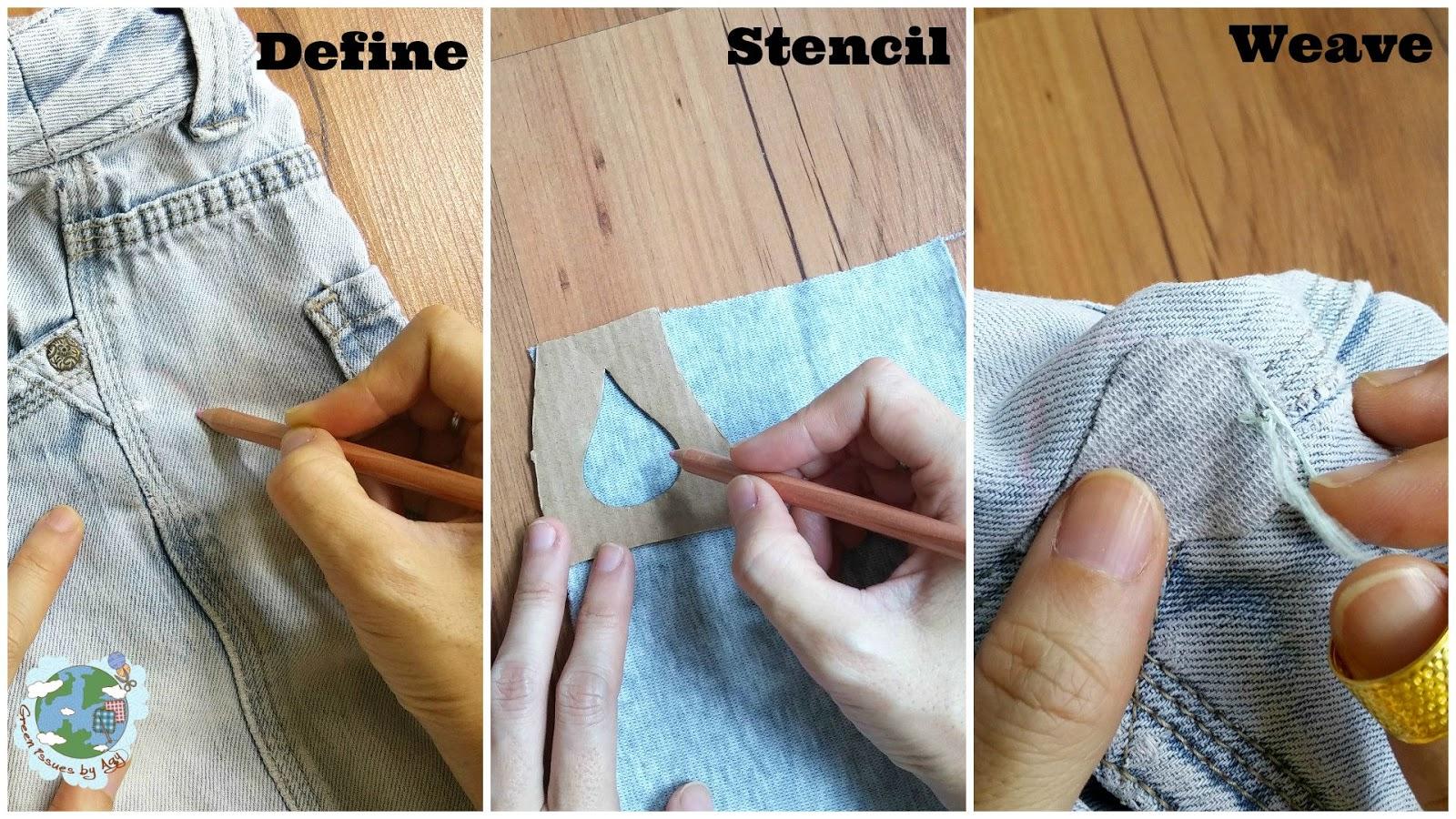 sashiko repair