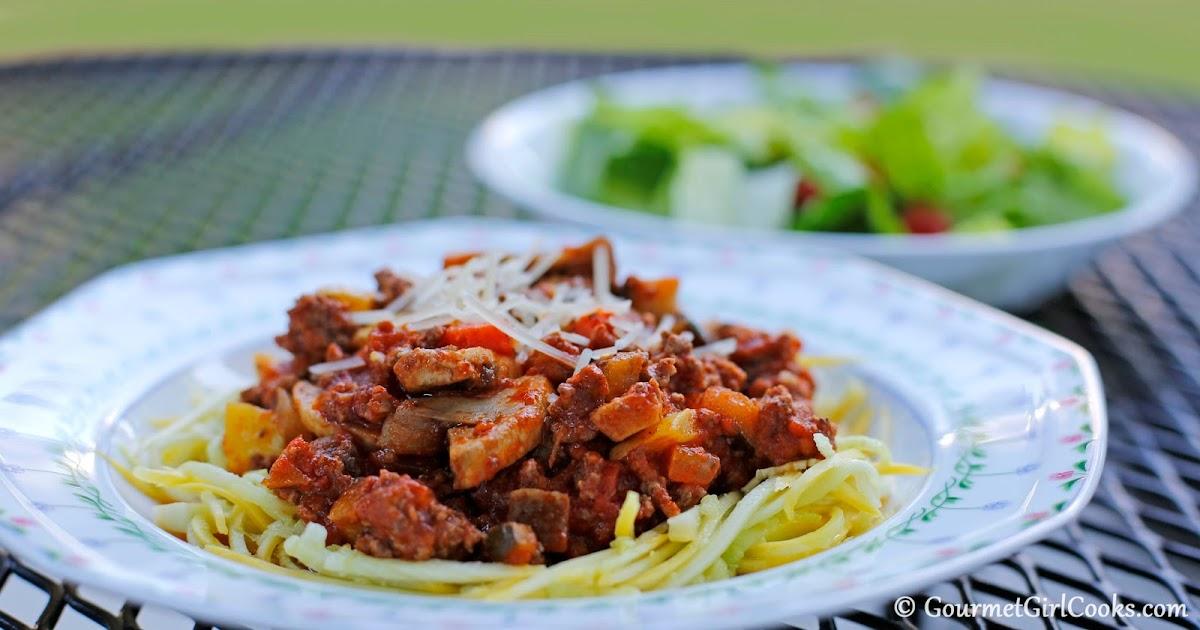 Gourmet Girl Cooks: Low Carb Pasta Night - Always a Sunday ...
