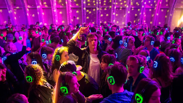"""Silent Disco"" At Bhubaneswar"