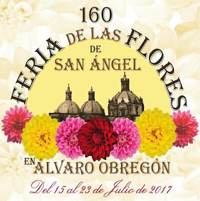 feria de las flores san angel 2017