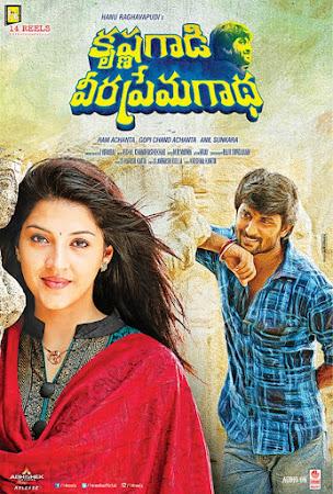 Poster Of Free Download Krishna Gaadi Veera Prema Gaadha 2016 300MB Full Movie Hindi Dubbed 720P Bluray HD HEVC Small Size Pc Movie Only At worldfree4u.com
