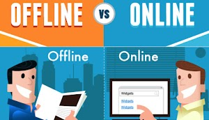 Difference Between Online and Offline Marketing