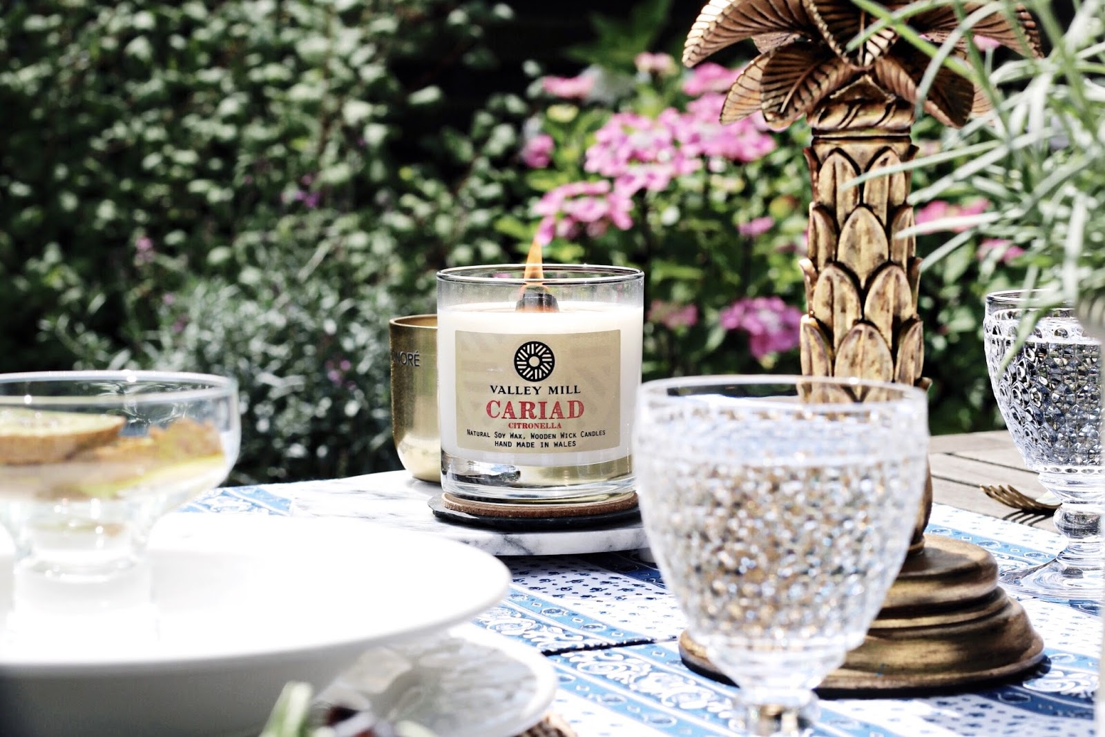 Valley Mill Cariad Citronella Candle
