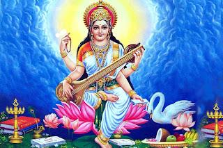 saraswati goddess hd