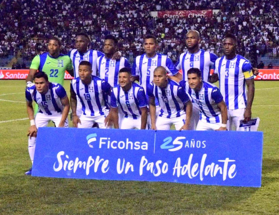 Formación de Honduras ante Chile, amistoso disputado el 10 de septiembre de 2019