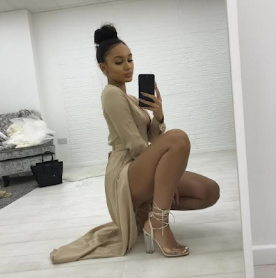 Sexy photos of Alex Iwobi's girlfriend
