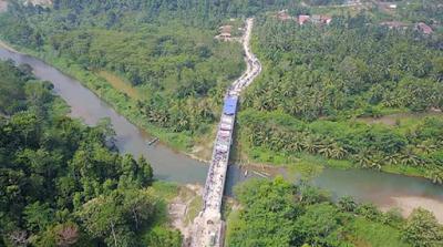 Ini Spesifikasi Jembatan Terpanjang Di Provinsi Lampung