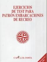 Ejercicios de test para Patrón de Embarcaciones de Recreo.