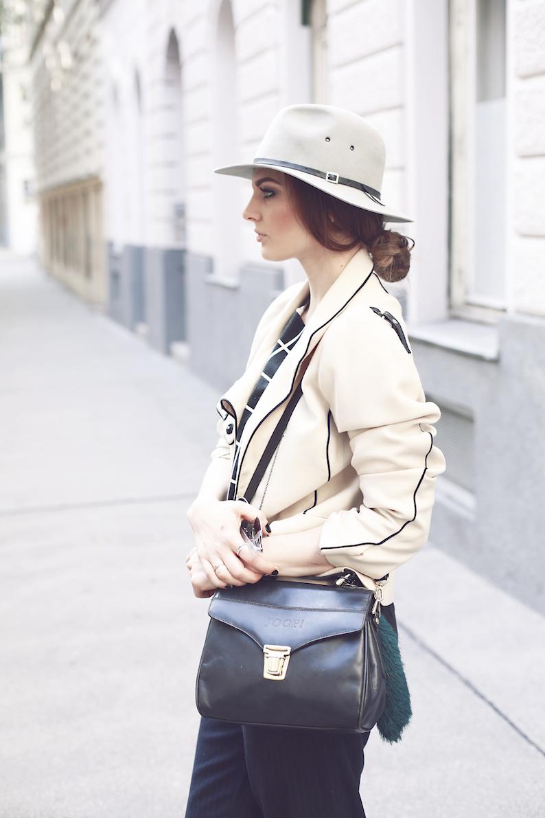 Joop Vintage Bag Zara Pants Top Blazer Shoes Collins HÜte Hat Swatch Shades