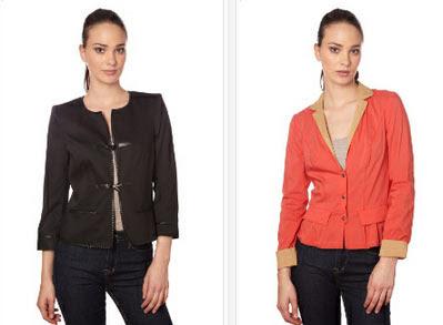 Originales chaquetas para mujer