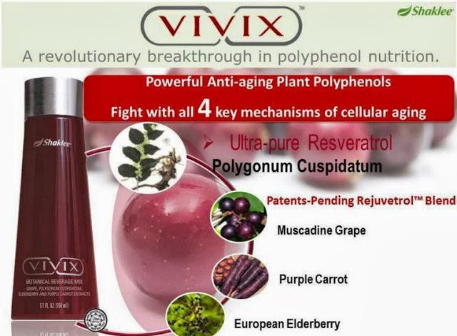 4 bahan vivix untuk kesihatan diabetis & awet muda