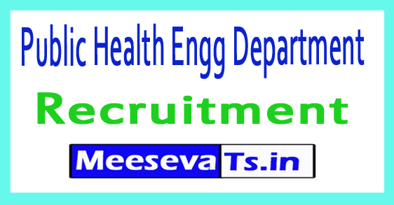 Public Health Engg Department PHED Recruitment