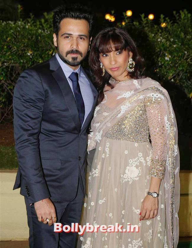 Emran Hashmi, Bollywood Babes at Vishesh Bhatt Wedding Reception