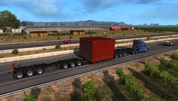 SCS Software lança pacote de cargas especiais para o American Truck Simulator