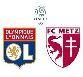 Lyon vs Metz highlights