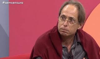 Ator abandona programa ao vivo da TV BrasiL depois de manifestar apoio aos funcionários da emissora, que estão em greve