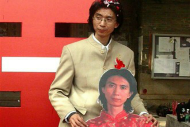 In 2007, Liu Ye of China decided it would be better to marry himself than be single.
