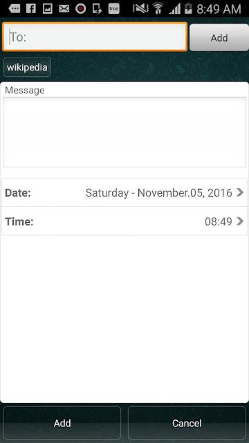 طريقة ارسال رسالة واتساب في وقت محدد [ بالروت وبدون روت ]