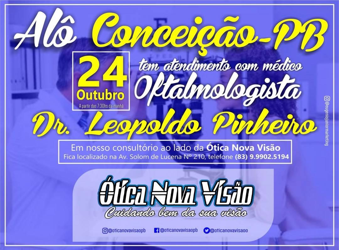 ConceiçãoPBOnline  ATENÇÃO! A Ótica Nova Visão avisa! 567132dfb1