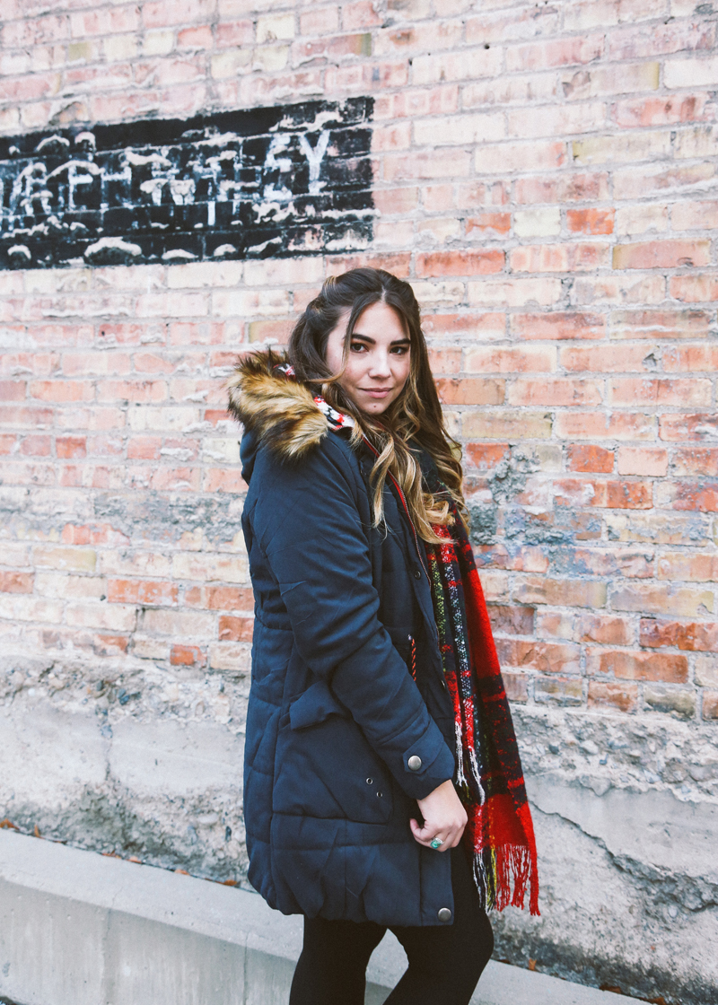 faux fur, layered winter outfit, best bloggers to work with