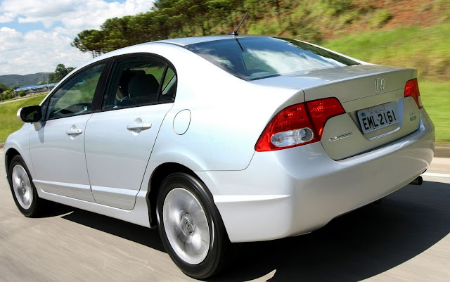 Honda convoca Civic, Accord, City e Fit para recall por defeito no airbag