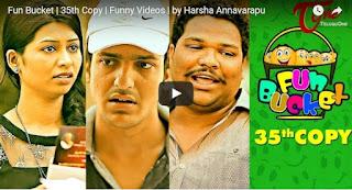 Fun Bucket Latest Video  35th Copy  Funny Fun Bucket Videos  by Harsha Annavarapu