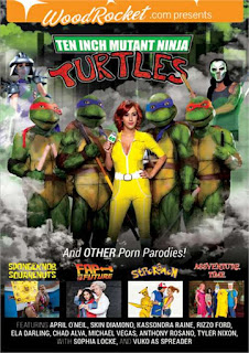 Ten Inch Mutant Ninja Turtles & Other Porn Parodies