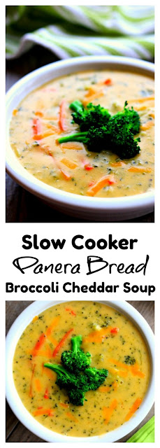 SLOW COOKER PANERA BROCCOLI CHEDDAR SOUP