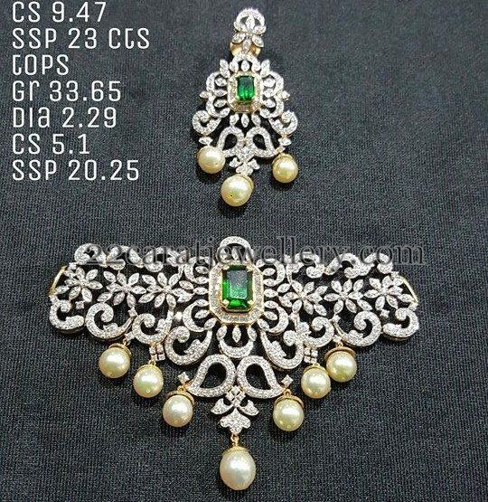 Trendy Diamond Choker 7 Lakhs Worth Jewellery Designs