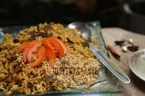 Resep Nasi Mandi dengan Pressure Cooker a la JTT