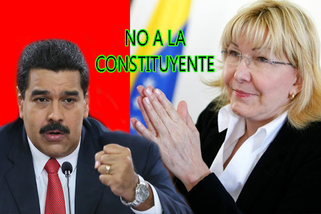 Luis Ortega envía carta a Maduro rechazando la constituyente
