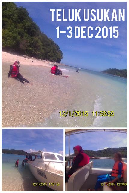 Usukan Cove Lodge, Teluk Usukan, Sabah, travelog