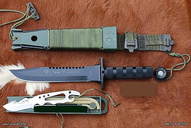 Συλληψη 54χρονου σε χωριό του Ναυπλίου με μαχαίρι στρατιωτικού τύπου