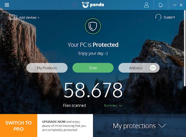 Panda Free Antivirus Terbaru (Software Antivirus Terbaik Gratis)