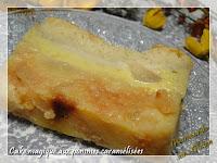 Cake magique aux pommes caramélisées, sans gluten
