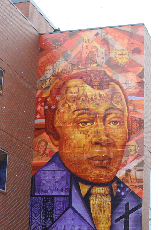 Womenmaximizingservanthood wms for Dr j mural philadelphia
