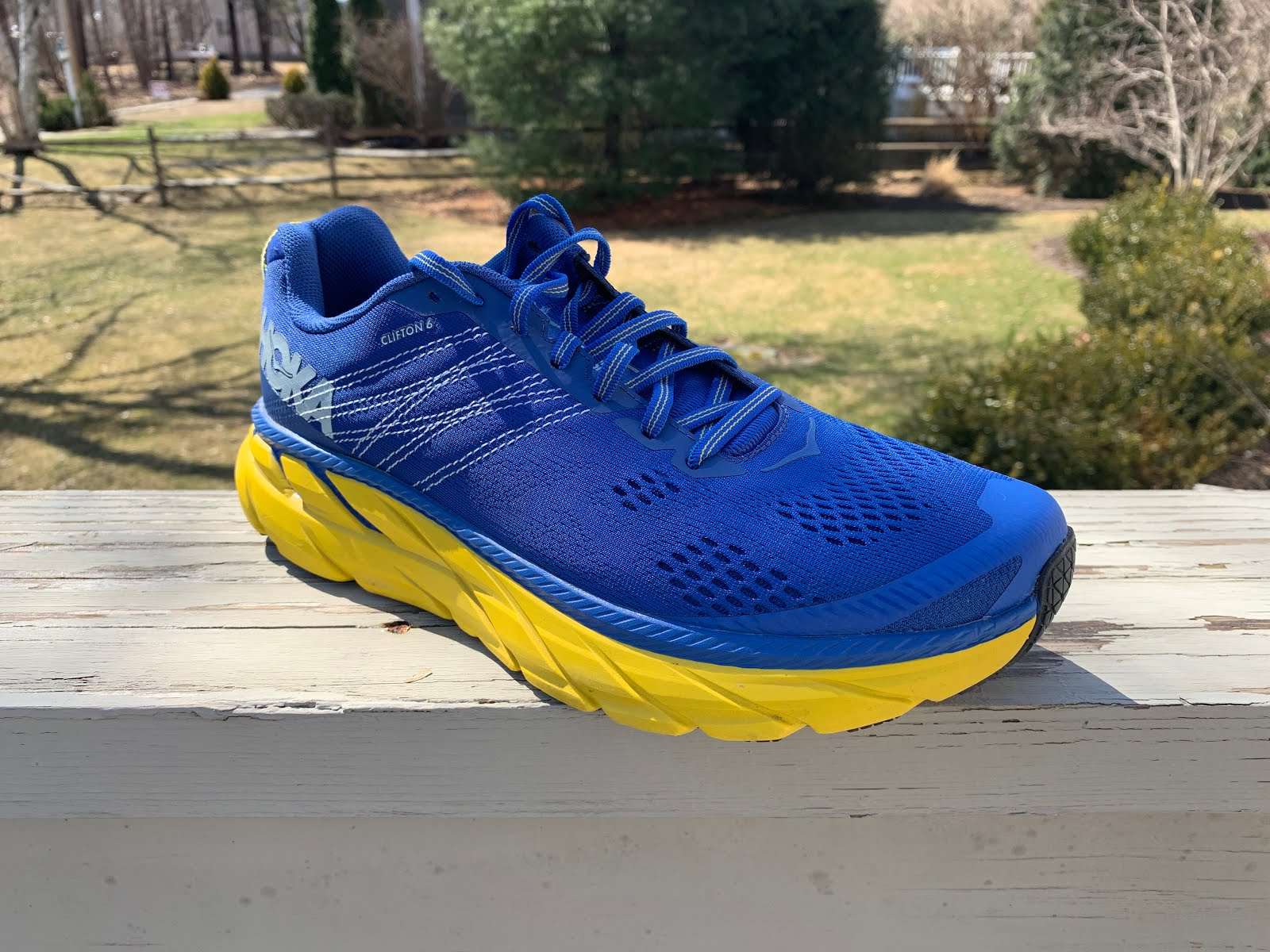 "621205a90afec Sam  The Clifton is the shoe that put Hoka on the ""road map"" more than any  other. The original was a very light 7.7 oz with the same and current 29 mm  ..."