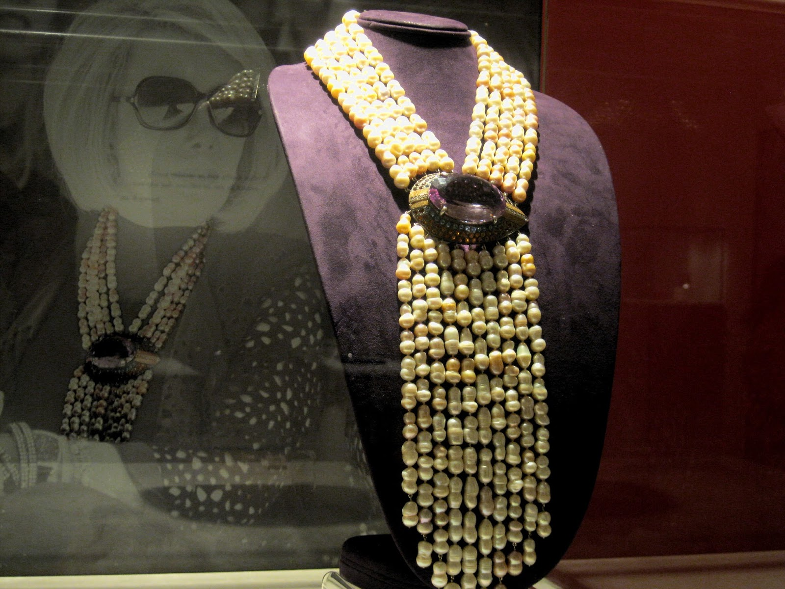 Joan Rivers' Private Collection Freshwater Cultured Pearl and Mulit-Gemmed Necklace [photo/edit by sookietex]