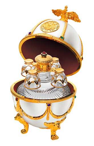 Ovo Fabergé dos Romanovs