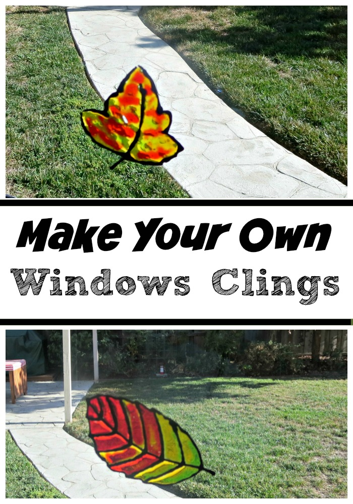 Decorating for Fall with DIY Window Clings - Planet Smarty ...