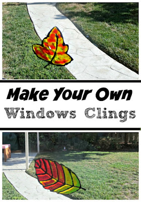 Make your own window clings