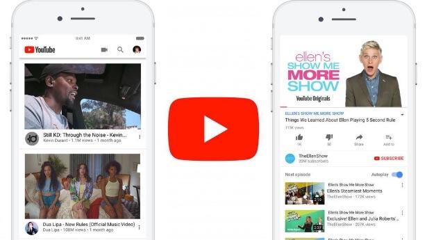 اطلاق تحديث يوتيوب لنظام التشغيل iOS مع اصلاح استنزاف البطارية