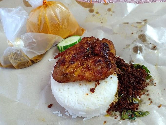 Nasi Kukus Ayam Berempah