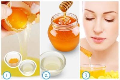 Cách làm trắng da nhanh chóng bằng mật ong trứng gà