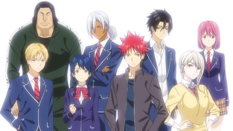 Nah Kali Ini Mimin Ingin Berbagi Lagu Ost Opening Dan Ending Anime Terbaru Yaitu Shokugeki No Souma Season 3 San Sara