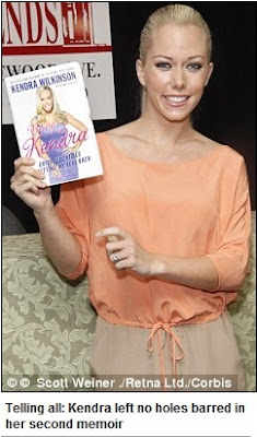 Hello Celebrity: Thats one way to promote a book! Kendra